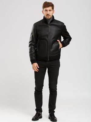 Куртка-дубленка черная   5629782