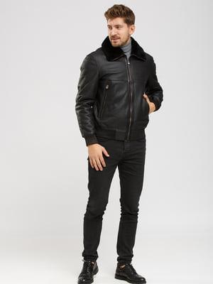 Куртка-дубленка черная   5629783