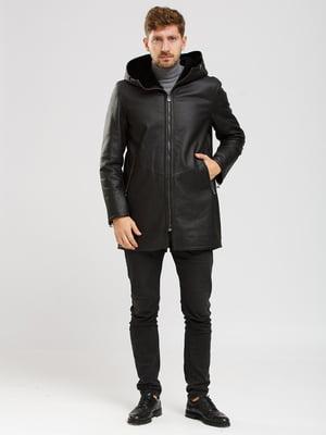 Куртка-дубленка черная   5629784