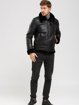 Куртка-дубленка черная | 5629791