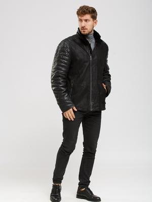 Куртка-дубленка черная | 5629793