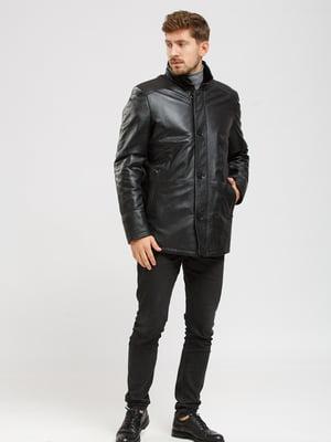 Куртка-дубленка черная | 5629797