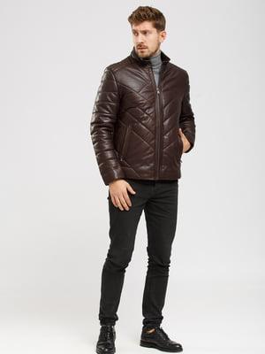 Куртка коричневая   5629815