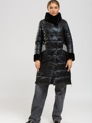 Пальто чорне | 5629835