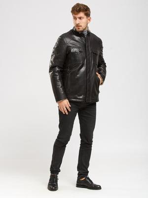 Куртка-дубленка черная   5629851