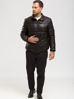 Куртка-дубленка черная   5629879