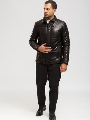 Куртка-дубленка черная   5629880