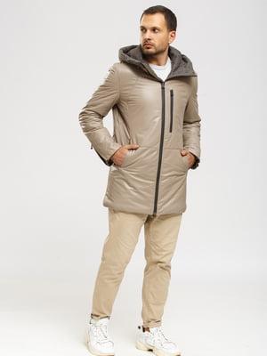 Куртка-дубленка бежевая   5629881