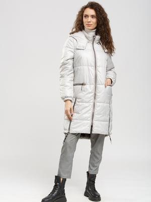 Пальто светло-серое   5629887