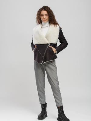 Куртка-дублянка коричнева   5629907