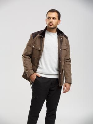 Куртка коричневая   5629989