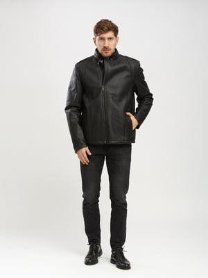 Куртка-дубленка черная | 5630028