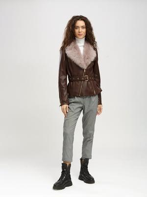 Куртка коричневая | 5630033
