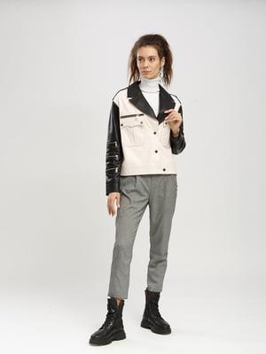 Куртка пудрово-черная | 5630035