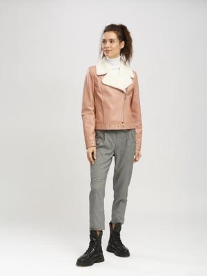 Куртка цвета пудры | 5630044