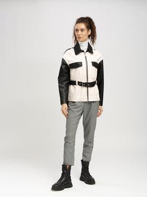 Куртка пудрово-черная | 5630045