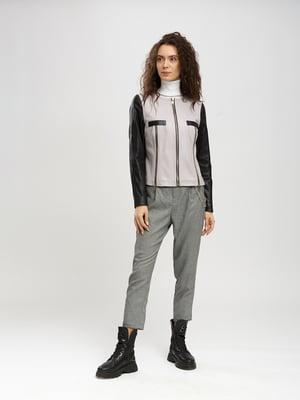 Куртка черно-сиреневая | 5630051