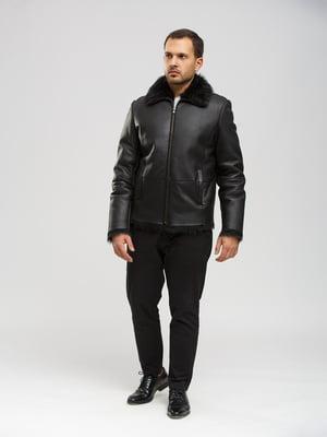 Куртка-дубленка черная | 5630064