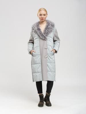 Пальто серое   5630072