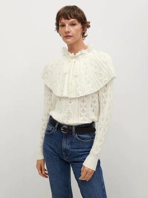 Блуза-джемпер белая | 5630123