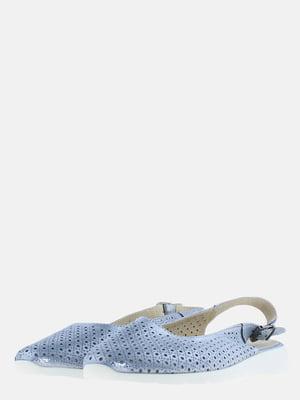 Босоніжки блакитного кольору | 5619080