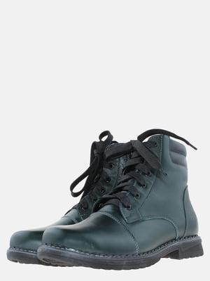 Ботинки зеленого цвета   5625502