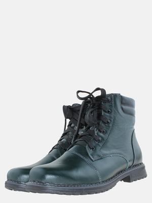 Ботинки зеленого цвета   5625503