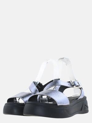Босоніжки сріблястого кольору | 5630203