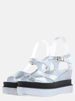 Босоніжки сріблястого кольору | 5630209