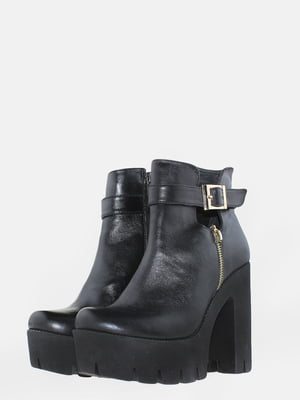 Ботинки черные | 5630211