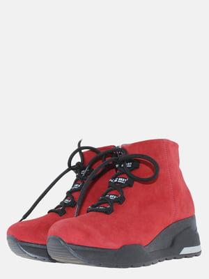 Ботинки красного цвета | 5630224