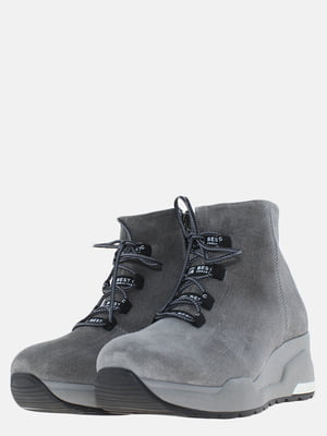 Ботинки серые | 5630225