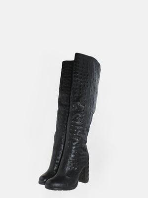 Сапоги черные | 5630262