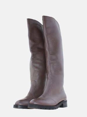 Чоботи коричневого кольору | 5630283