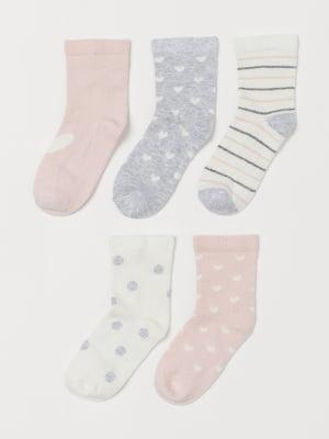 Комплект шкарпеток (5 пар) | 5630456