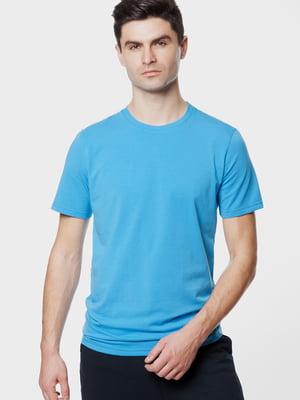 Футболка голубого цвета | 5631637