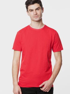 Футболка червоного кольору | 5631638