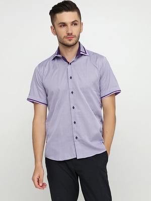 Рубашка сиреневого цвета | 5631806