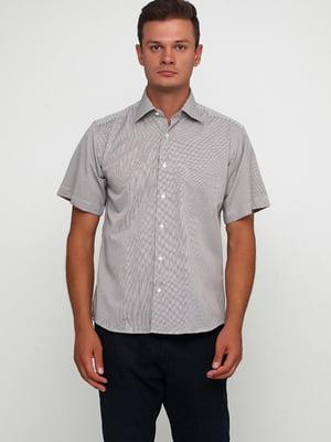 Сорочка біло-синя в смужку | 5631808