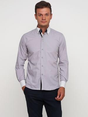 Рубашка сиреневого цвета | 5631828