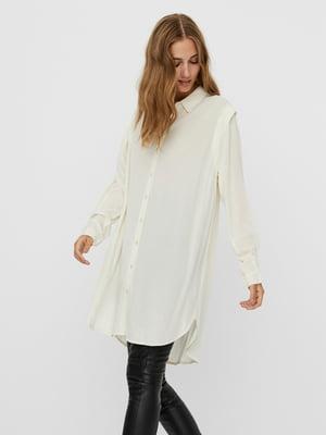 Блуза молочного кольору | 5618406