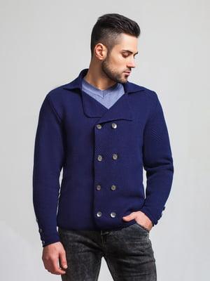 Пиджак темно-синий | 5632113