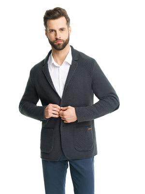 Пиджак темно-серый | 5632137