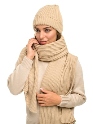 Комплект: шапка і шарф | 5632235