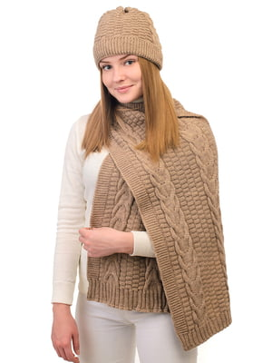 Комплект: шапка і шарф | 5632258
