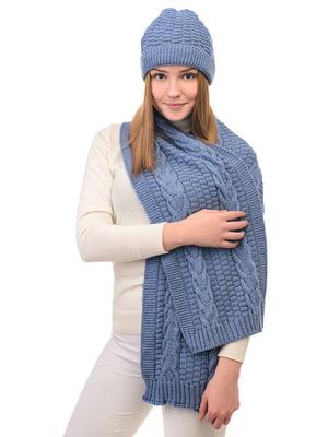 Комплект: шапка і шарф | 5632259