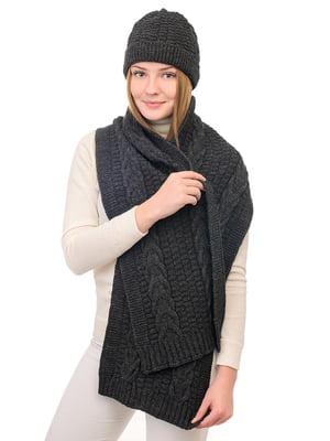 Комплект: шапка і шарф | 5632260