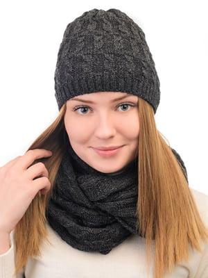 Комплект: шапка и снуд | 5632263