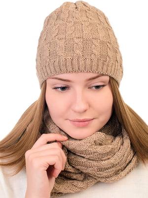 Комплект: шапка і снуд   5632264