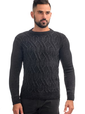 Джемпер темно-серый | 5632371